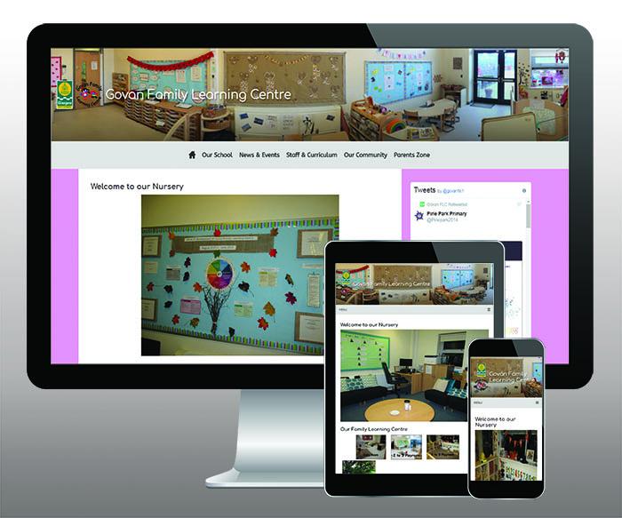Govan Family Learning Centre website
